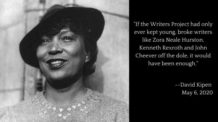 Zora Neale Hurston: Author, Folklorist, Filmmaker, WPA Florida Writers Project